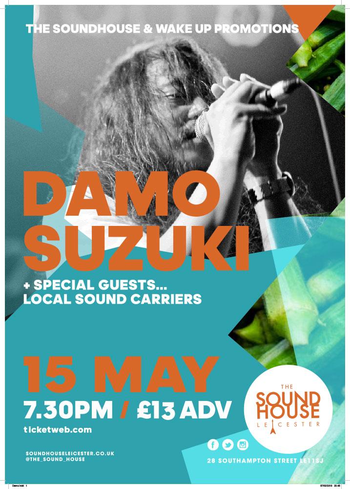 Damo Suzuki Belfast